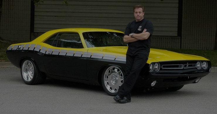 Chip Foose a világhírű autótervező
