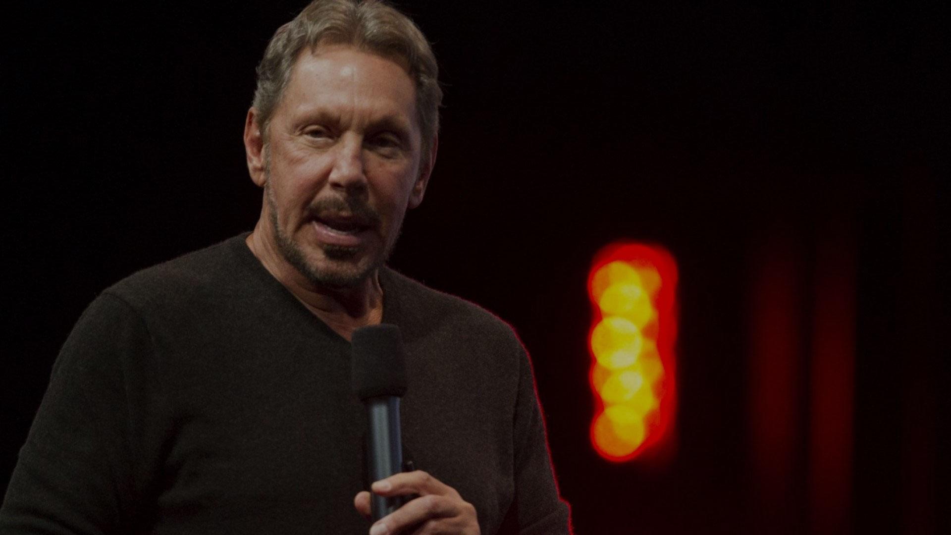 Az Oracle milliárdos vezérigazgatója, Larry Ellison