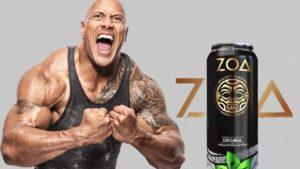 """Dwayne """"The Rock"""" Johnson és a ZOA energia ital"""